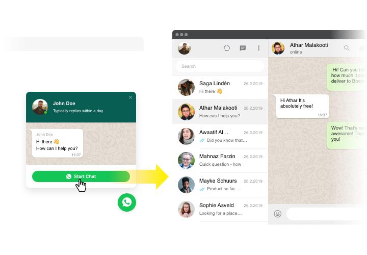 Wordpress WhatsApp Chat