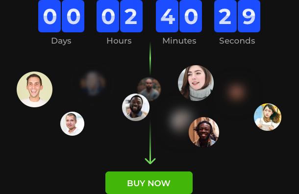 Countdown Zähler für Sonderangebote