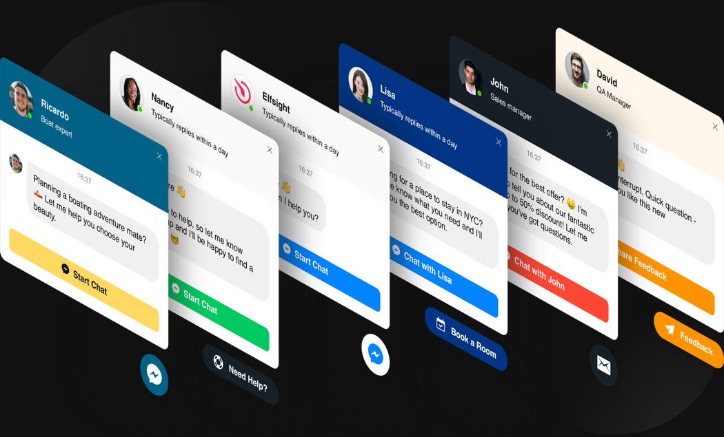 Anpassbare Design Chat genau für Ihren Anwendungsfall zu erstellen