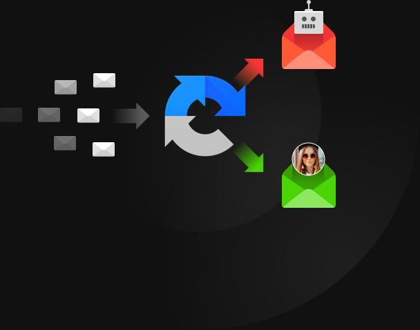 Sicherer und bequemer E-Mail-Prozess