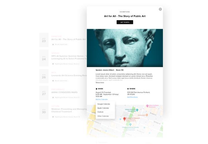 Wordpress Events Kalender Plugin