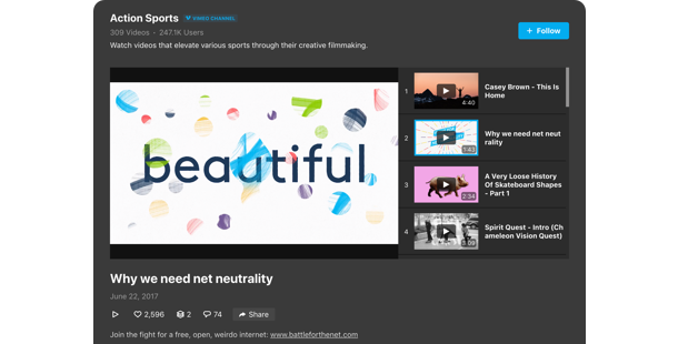 Vimeo Gallery Widgets