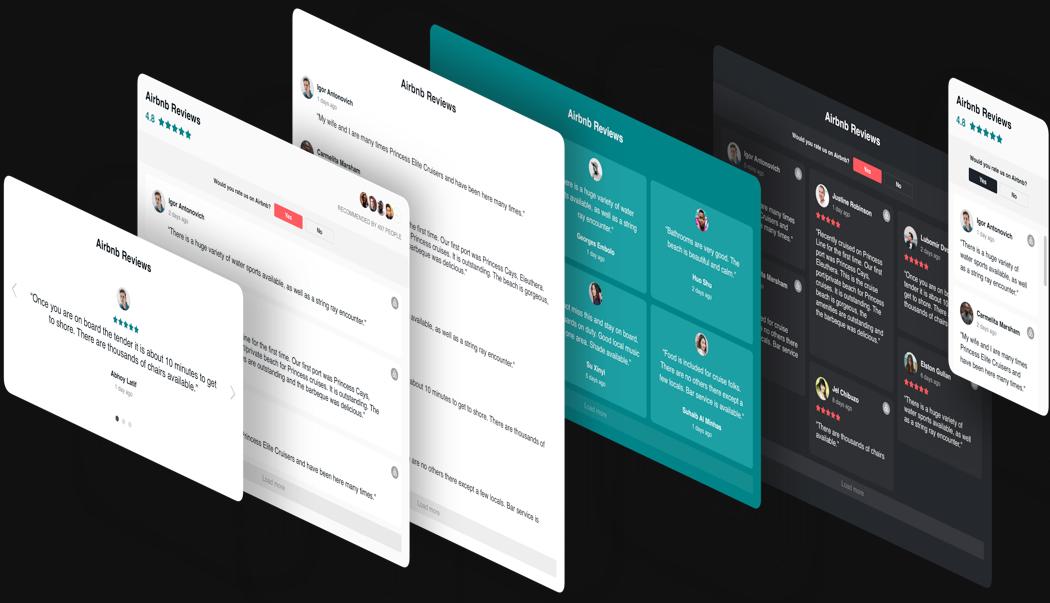 Moderne Design-Optionen mit wenigen Klicks