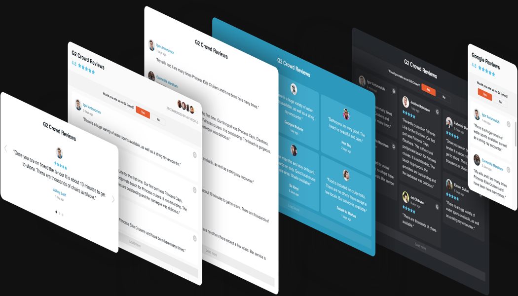 Herrliche Design-Optionen mit einem Klick