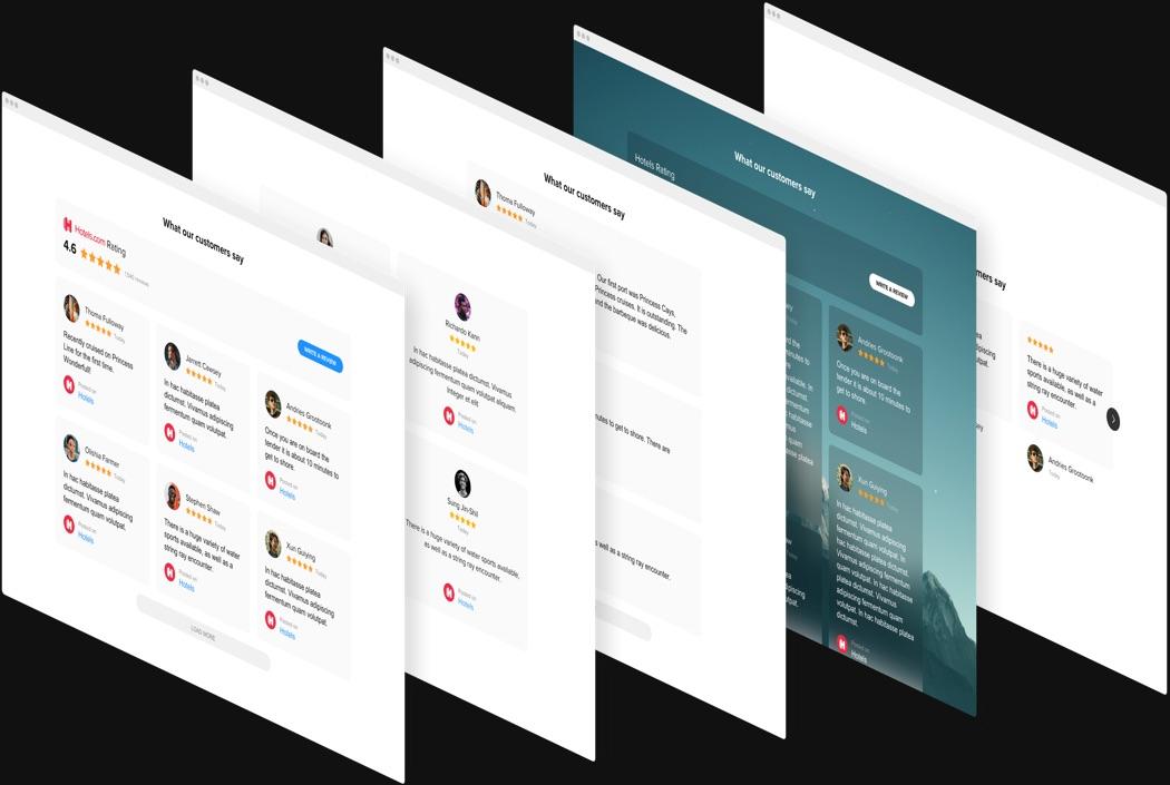 Bemerkenswerte Design-Funktionen mit wenigen Klicks