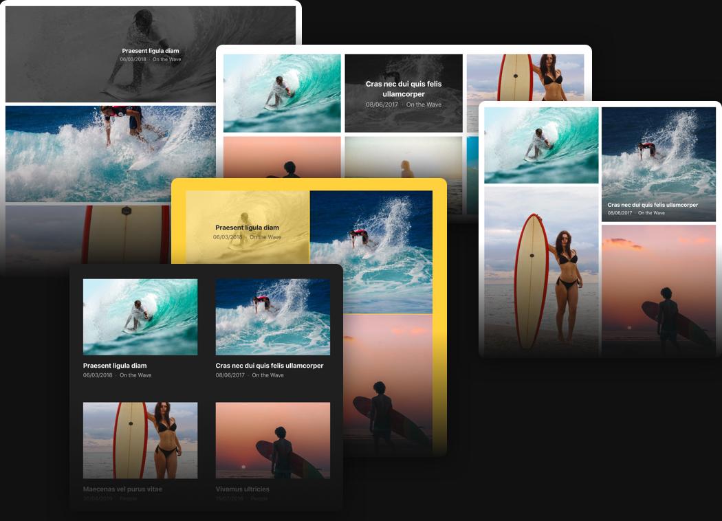 Ihre beste Portfolio-Website mit Elfsight-Widget