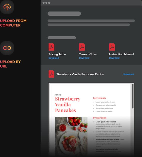 PDF direkt in Website anzeigen