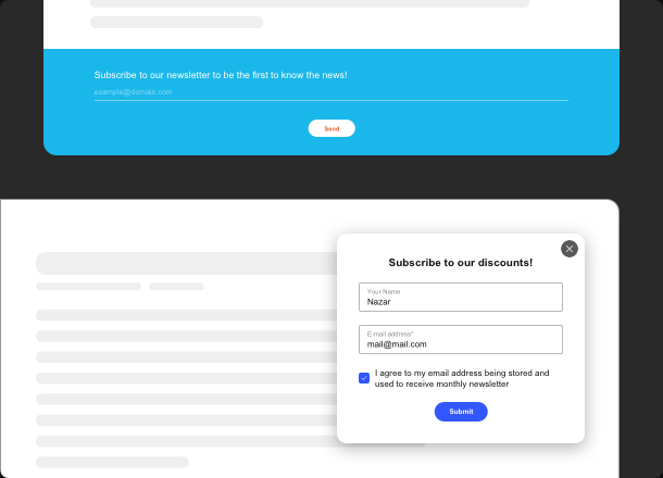 Erweitern Ihr Publikum mit einfachen und effektiven E-Mail Widget