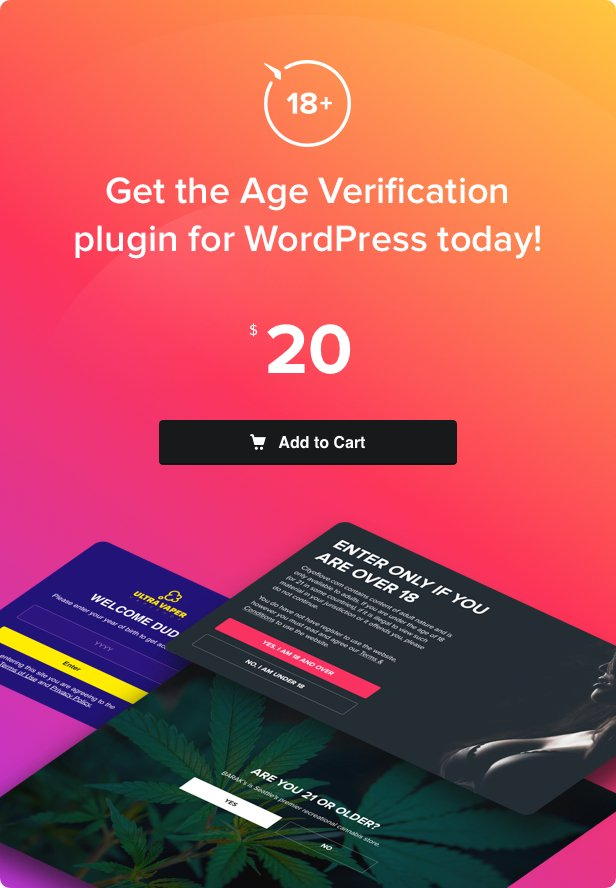 Age Verification for WordPress - 4