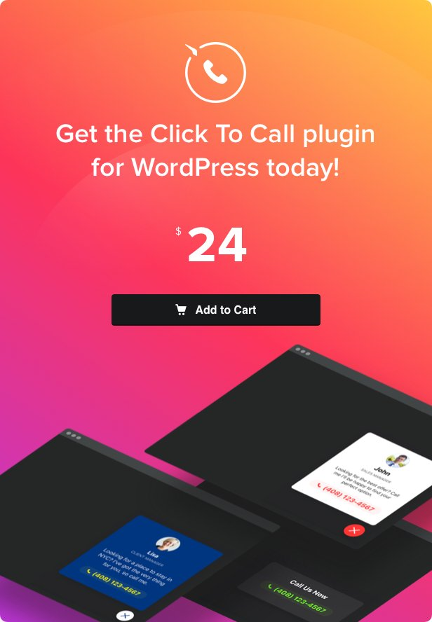 Click to Call - Call Button plugin for WordPress - 4