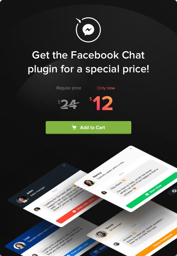 Facebook Chat - WordPress Facebook Messenger - 5