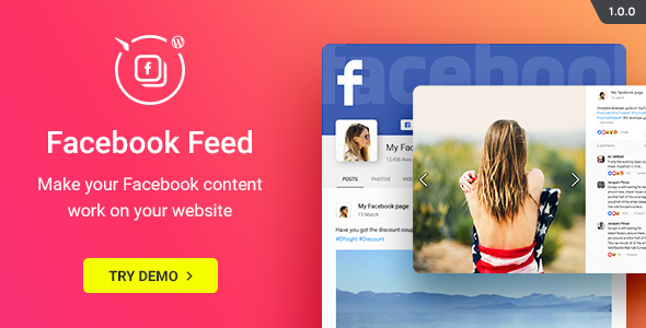 WordPress Facebook Plugin - Facebook Feed Widget