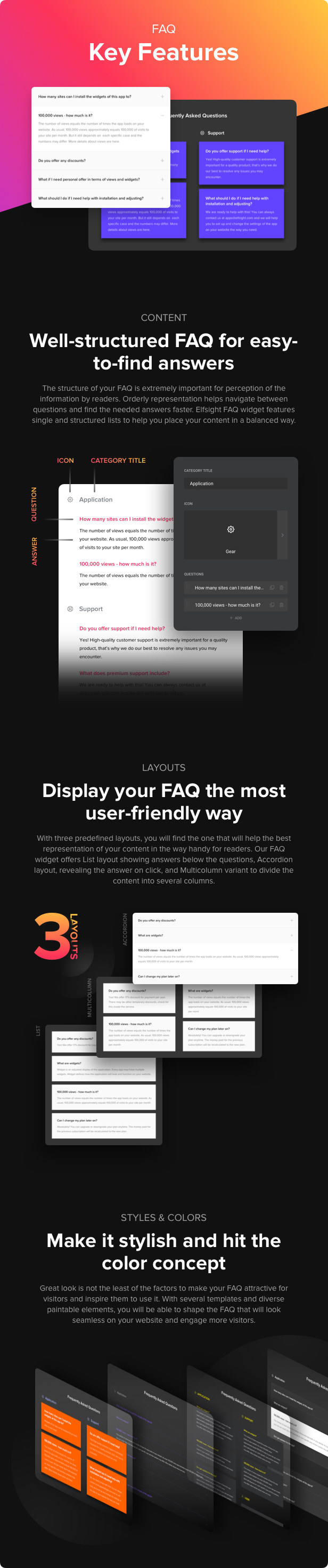 Accordion FAQ Plugin for WordPress - 2