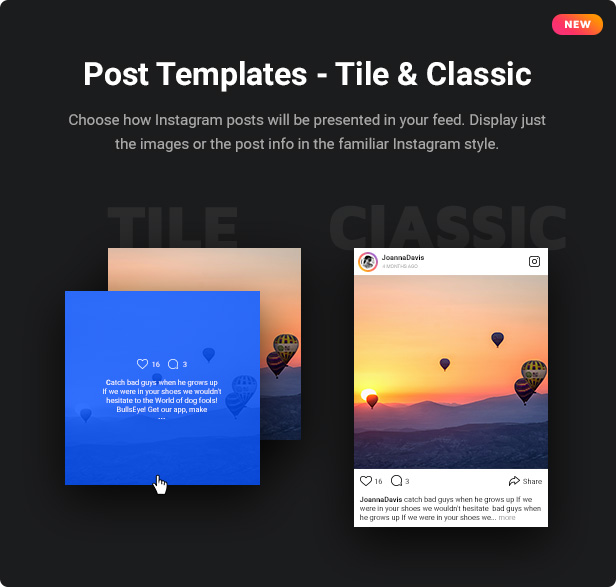 Instagram Feed - WordPress Instagram Gallery - 2