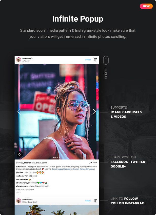 Instagram Feed - WordPress Instagram Gallery - 3