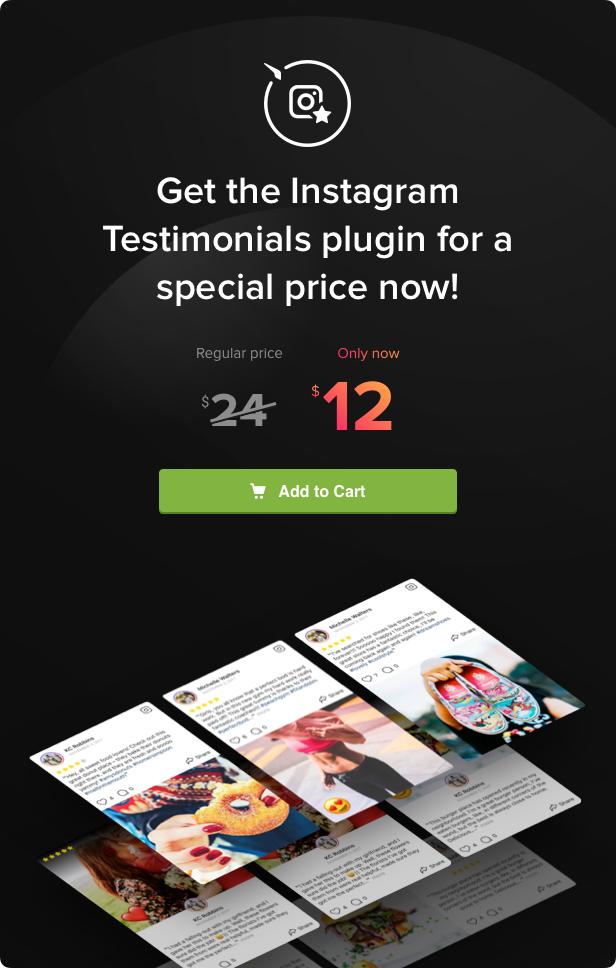 - elfsight instagram testimonials description cta 2 welcome - Instagram Testimonials Plugin for WordPress