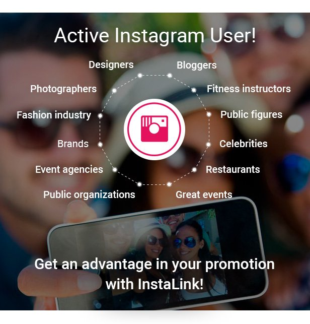 InstaLink - Responsive Instagram Widget WordPress