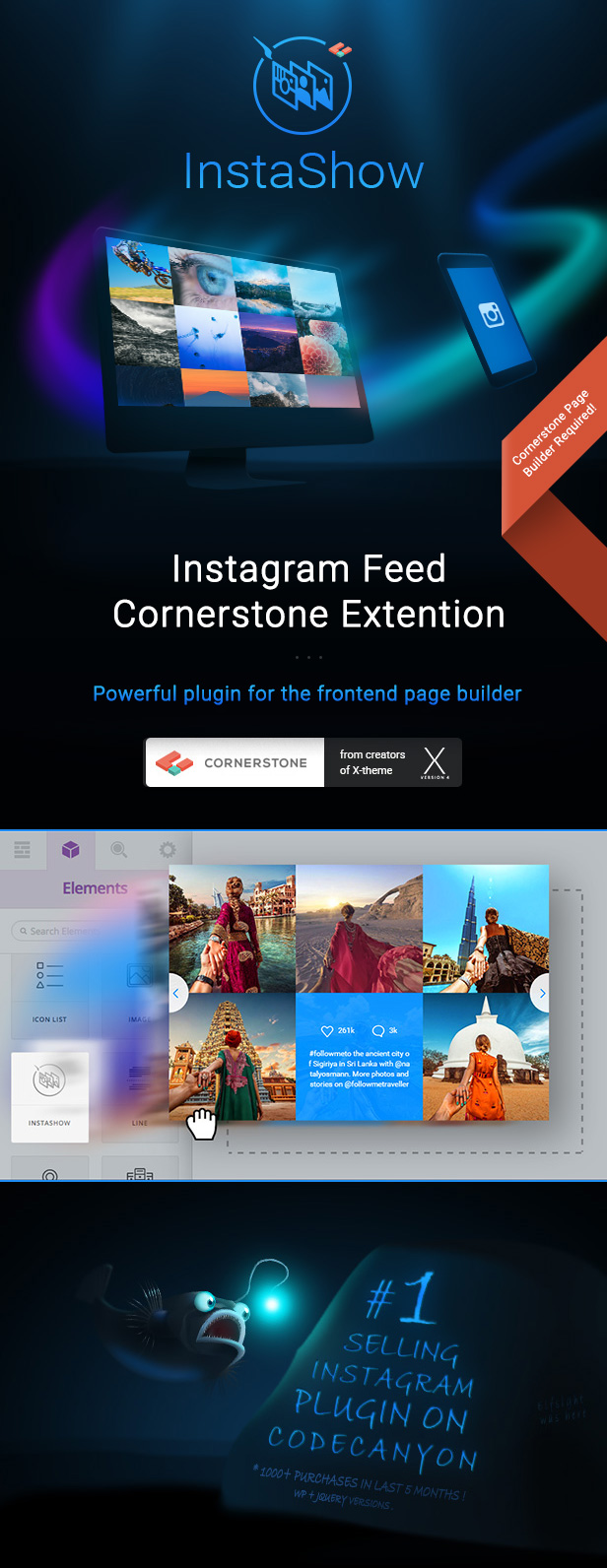 InstaShow - Instagram Feed Cornerstone Extension