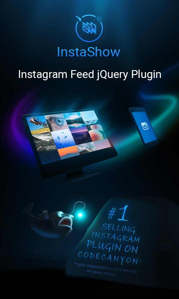 Instagram jQuery Gallery Widget - InstaShow