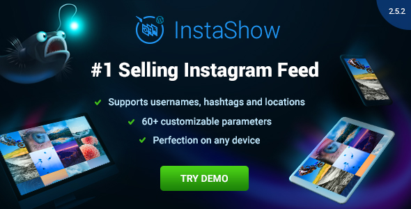 Instagram Feed for WordPress - InstaShow