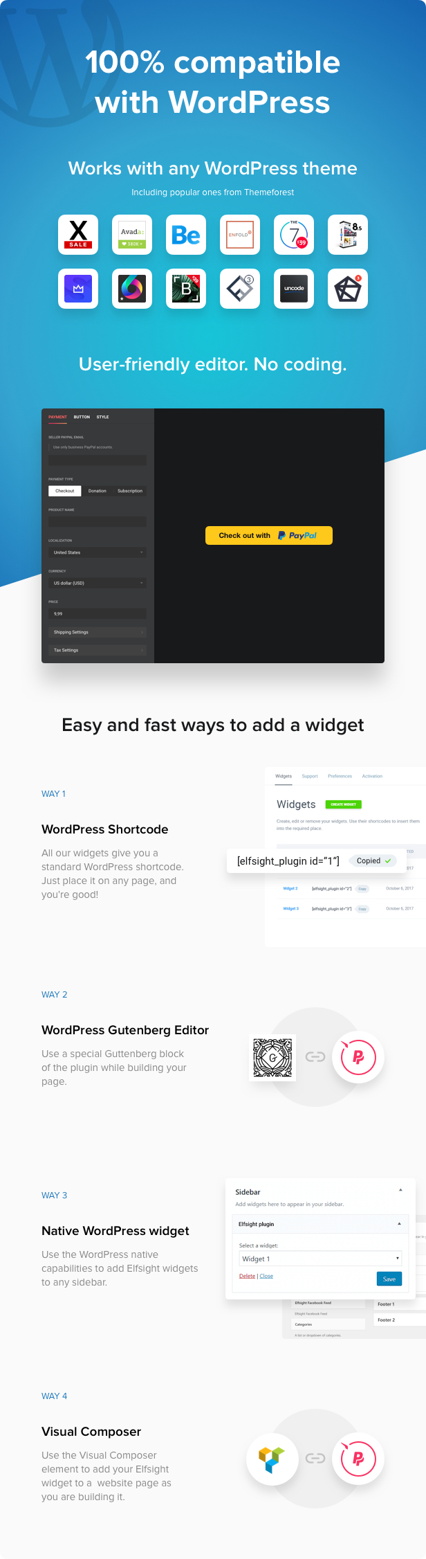 PayPal Button - WordPress PayPal plugin - 3