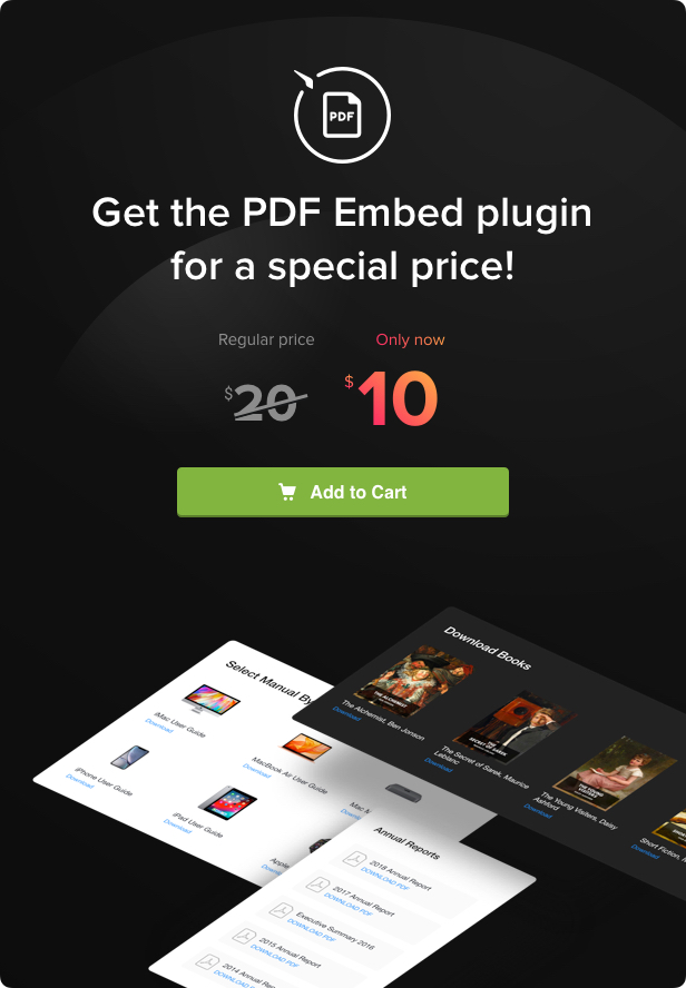 PDF Embed - WordPress PDF Viewer plugin - 5