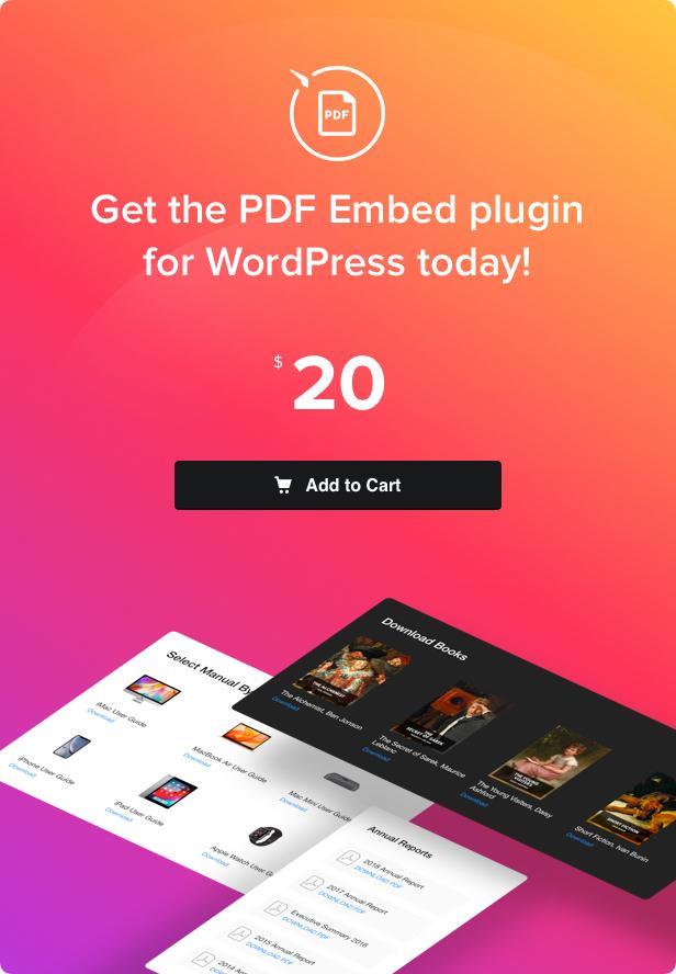 PDF Embed - WordPress PDF Viewer plugin - 4