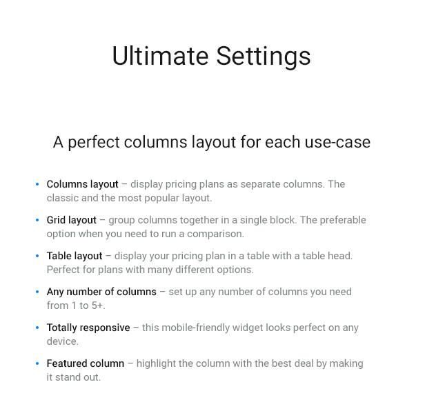 WordPress Pricing Table Plugin - 3