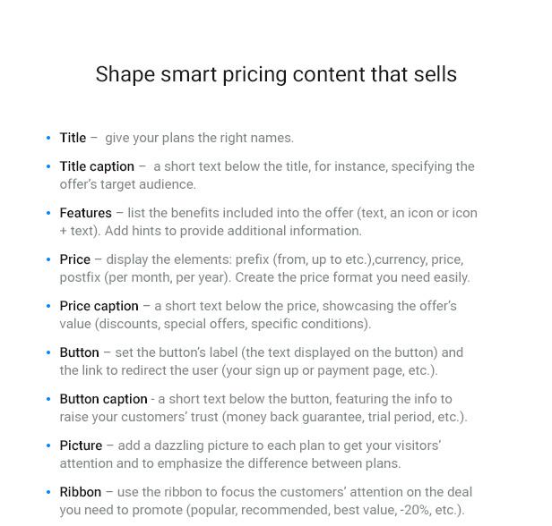 WordPress Pricing Table Plugin - 9