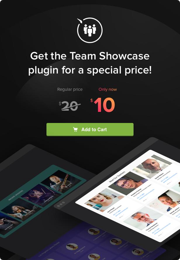Team Showcase - WordPress Team Showcase plugin - 5
