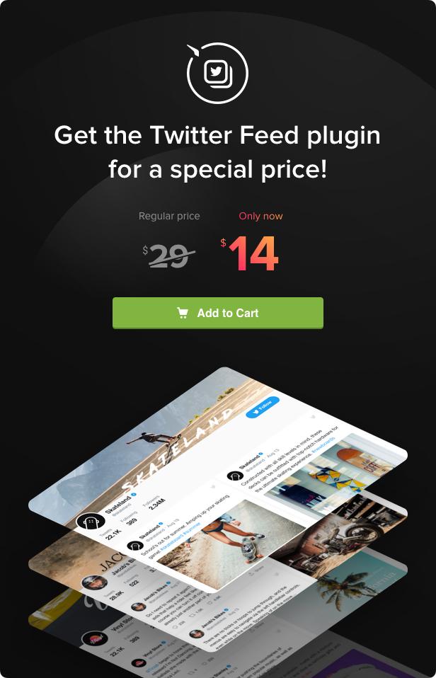 Twitter Feed - WordPress Twitter Plugin - 5