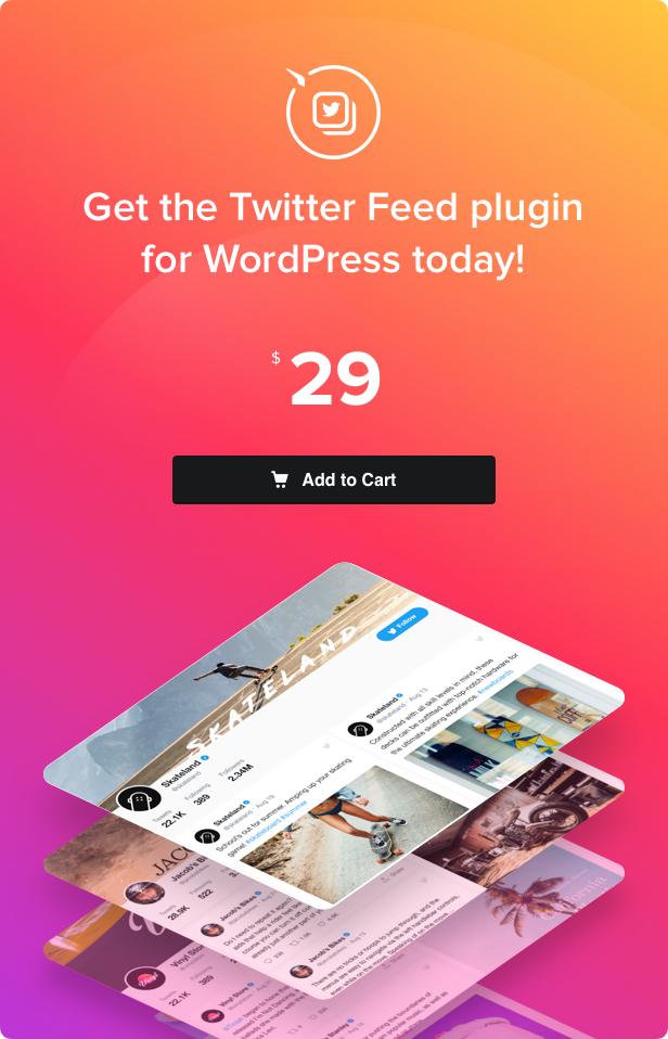 Umpan Twitter - Plugin Twitter WordPress - 4