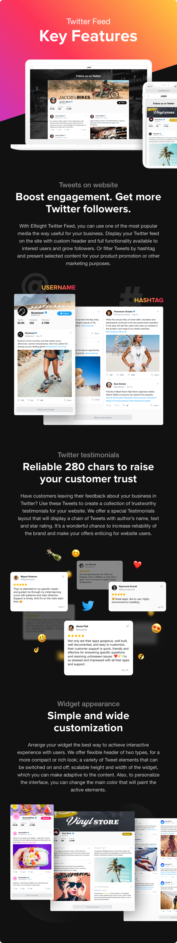 Twitter Feed - WordPress Twitter Plugin - 2