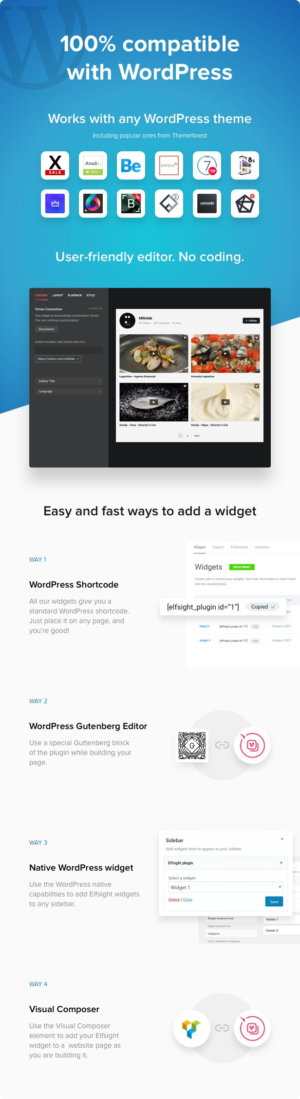 Vimeo Gallery - WordPress Vimeo plugin - 3