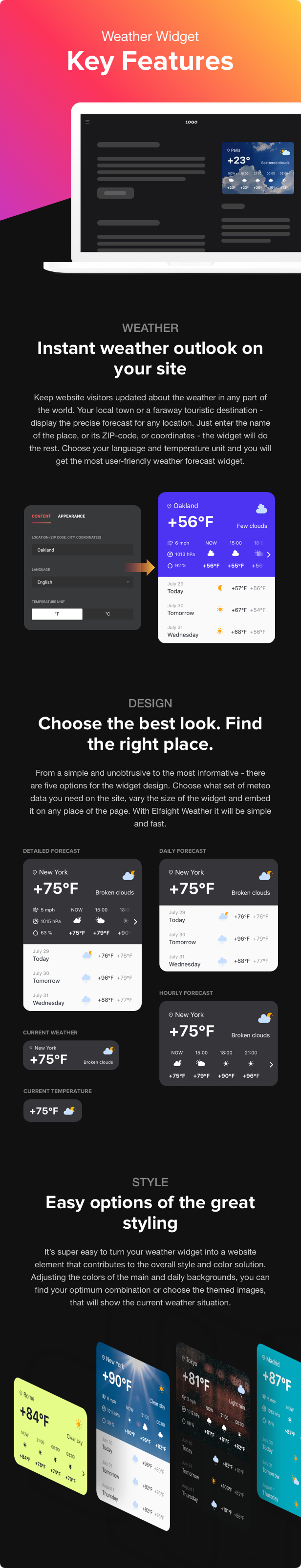 Weather Forecast - WordPress Weather Plugin - 2