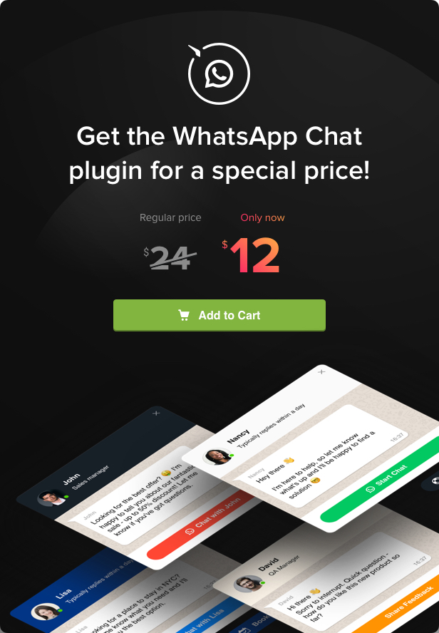 WhatsApp Chat - WordPress WhatsApp Chat plugin - 5