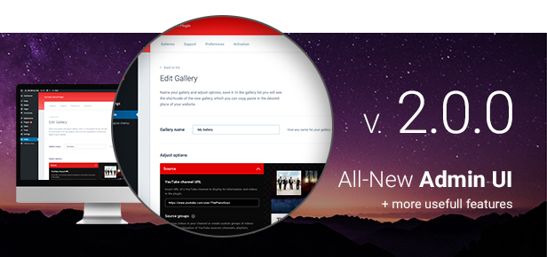 YouTube Plugin - WordPress Gallery for YouTube 1
