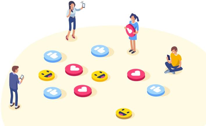 Widgets para redes sociales