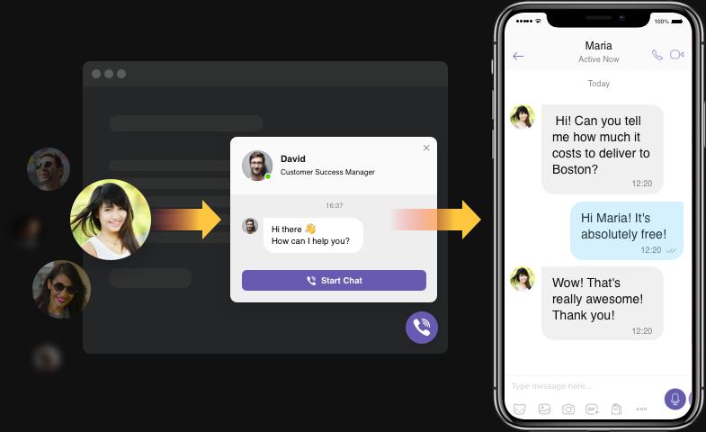 Permita que los usuarios se pongan en contacto con usted siempre que lo necesiten
