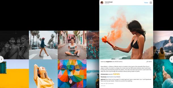 Feed de Instagram</br>en su sitio web