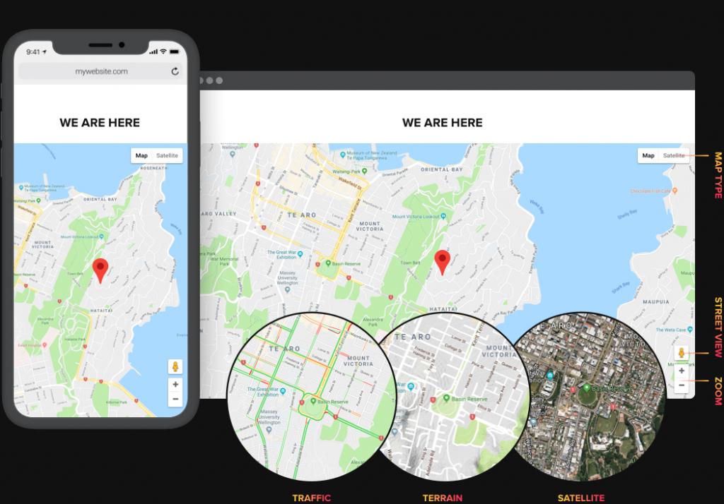 Configure un mapa claro y útil