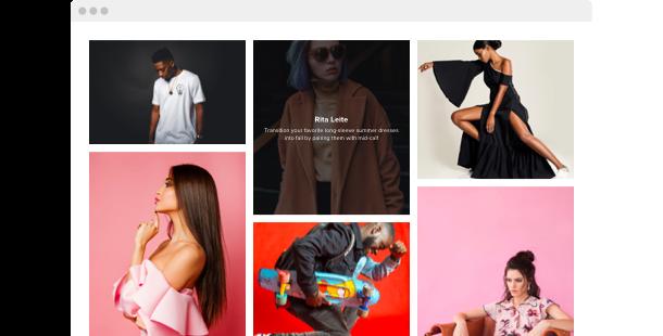 Widget Galería de Fotos</br>para el sitio web