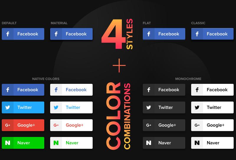 Seleccione esquemas de color