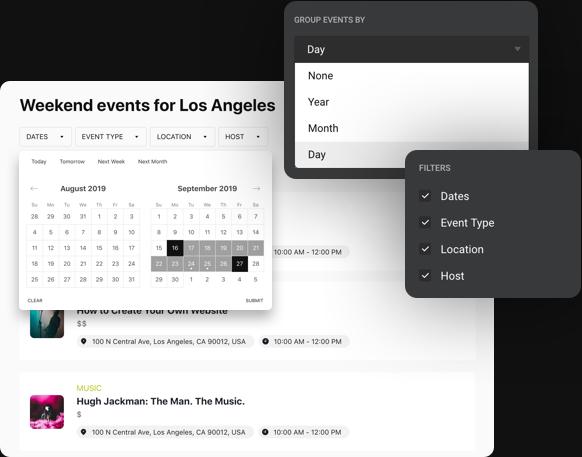 Interface accrocheuse offrant une excellente expérience utilisateur