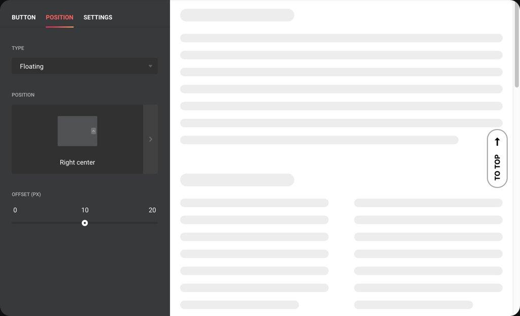 Intégrez-le de manière transparente dans la zone de contenu de votre site web