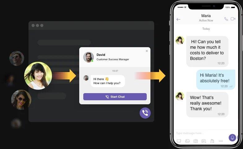 Permettez aux utilisateurs de vous joindre quand ils en ont besoin. Facilement