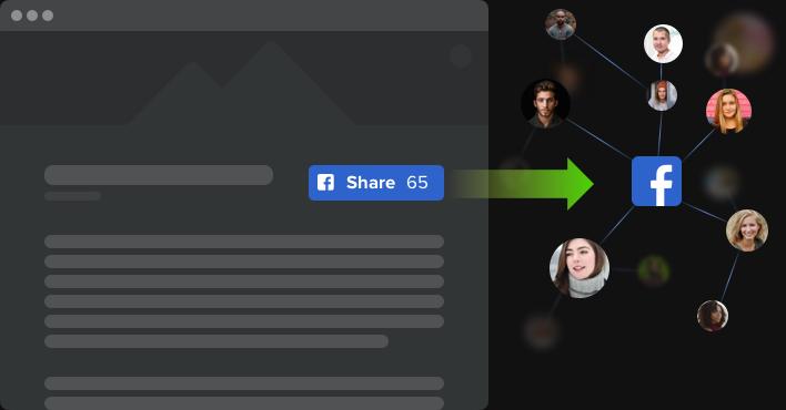 Diffusez davantage votre contenu. Augmentez la popularité.