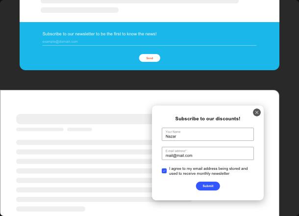 Développez votre audience avec un widget e-mail simple et efficace