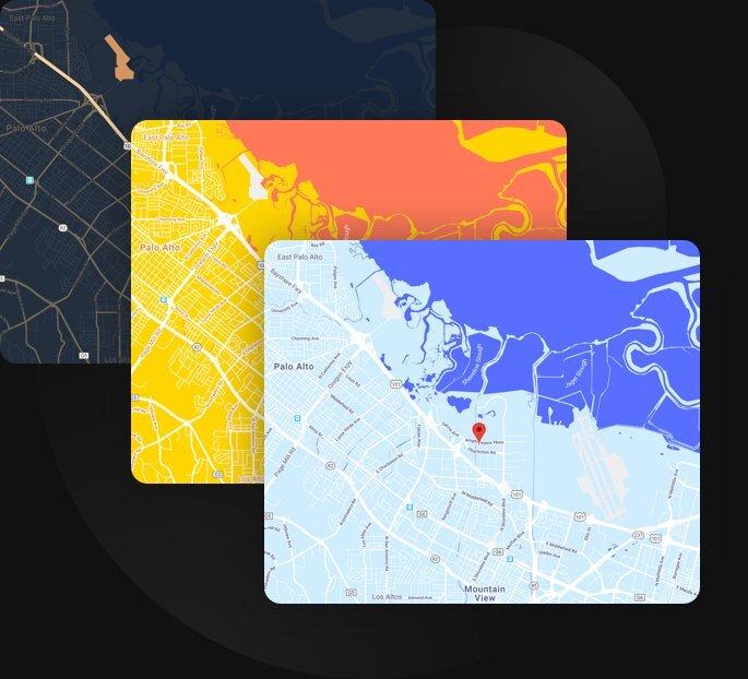 Crea un aspetto della mappa personalizzato e unico