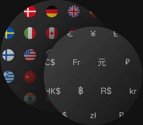 Pratico pagamento in tutto il mondo